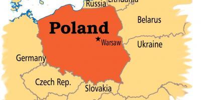 Varso Map A Terkepeket Varso Masovia Lengyelorszag